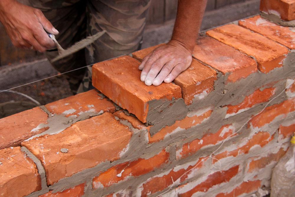 Постройки дома из кирпича своими руками